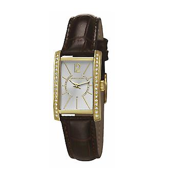 Pierre Cardin ladies watch bracciale orologio LA tête d'or in pelle PC106562F09