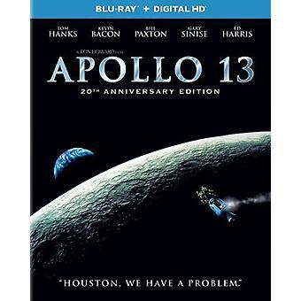 Apollo 13: 20th Anniversay Edition [BLU-RAY] USA import