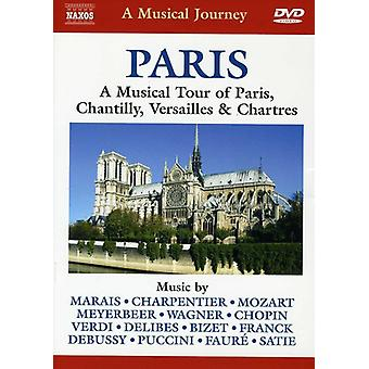 Paris: Musical Tour of Paris [DVD] USA import