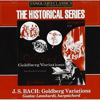 J.S. Bach - J.S. Bach: The Goldberg-variationer [Vanguard] [CD] USA import