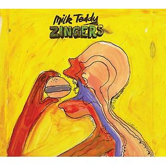 Mælk Teddy - Zingers [CD] USA importerer