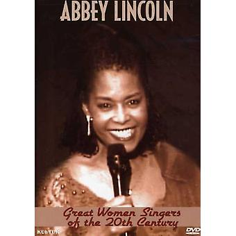 Abbey Lincoln - Great Women Singers of the 20th Century [DVD] USA import