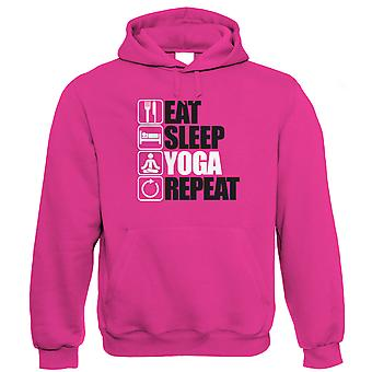 Eat Sleep Yoga Repeat Hoodie (S to 5XL)
