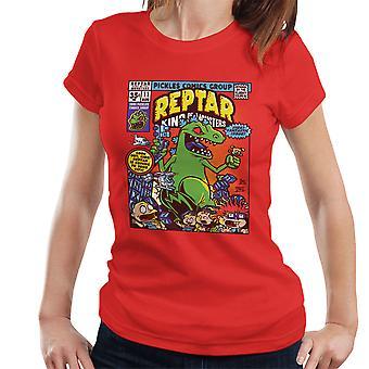 Reptar König der Monster Rugrats Damen T-Shirt