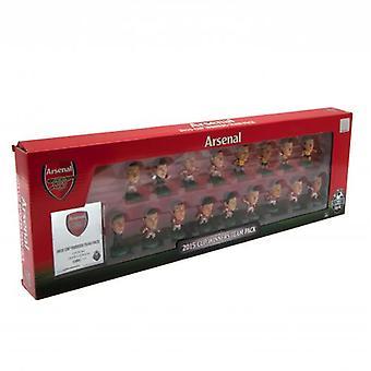 Pack de l'équipe des vainqueurs de coupe de F.A. SoccerStarz arsenal