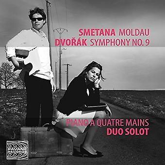 Dvorak / Duo Solot - Smetana: Moldau - Dvorak: symfoni No. 9 [CD] USA import