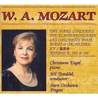 Jiri Tomase & Stern Orchestra & Christiane Eng - W. a. Mozart-the Piano Concertos [DVD] USA import