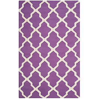 AVA Purple espalier uld tæppe - Safavieh