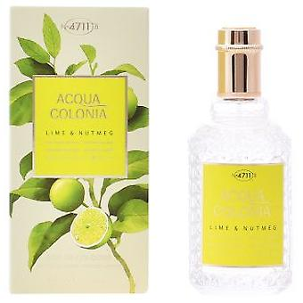 4711 muskatnød Lime Splash Acqua Cologne Spray 50 Ml (parfume, parfume)