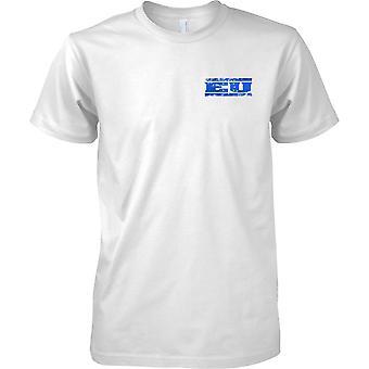 Europa comunitaria Grunge país nombre bandera efecto - niños pecho diseño camiseta