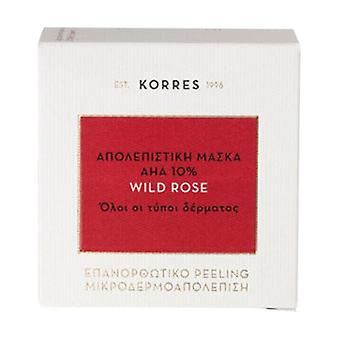 Korres Wild Rose Peeling Mask AHA 10% 40ml
