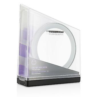 Tweezerman LED 15X Mini Mirror (Studio Collection) - -