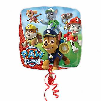 Amscan Square Paw Patrol Characters Foil Balloon