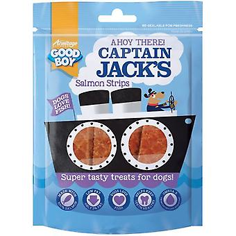 Good Boy Captain Jack's Salmon Strips 90 Gr (Dogs , Treats , Lighter Options)