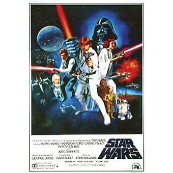 Star Wars Episode 4 New Hope Style C Poster Poster Print