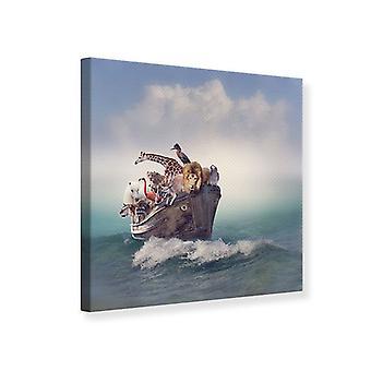 Tela de impressão da arca de Noé