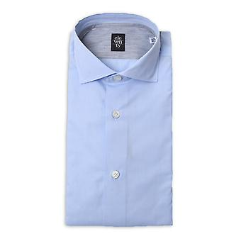 Eleventy men 979CA0001CAM2400608 blue cotton shirt