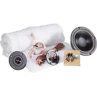 2-way speaker assembly kit SpeaKa Professional Kit 1 incl. insulation material