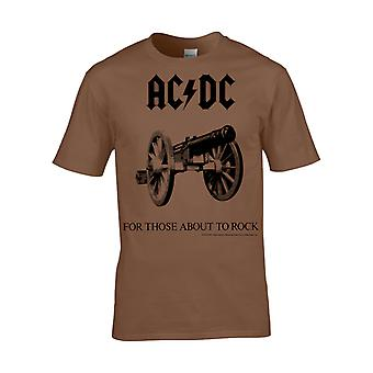 Ac/Dc For Those About To Rock  Kids T-Shirt