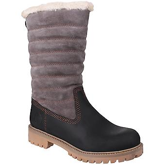 Cotswold Womens/Ladies Ripple Waterproof Leather Winter Boots