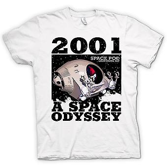 Womens T-shirt - 2001 Space Odyssey - Space Pod