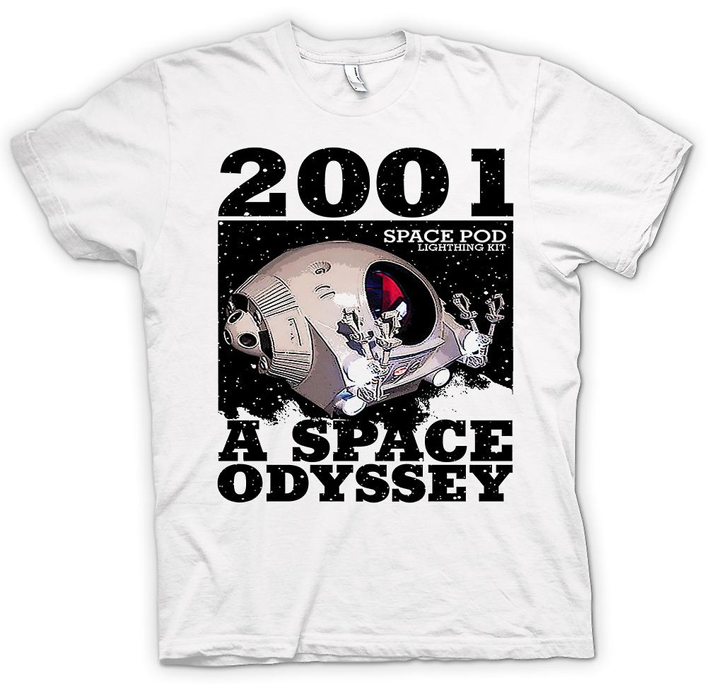 Womens T-shirt - 2001-Space Odyssey - Space Pod