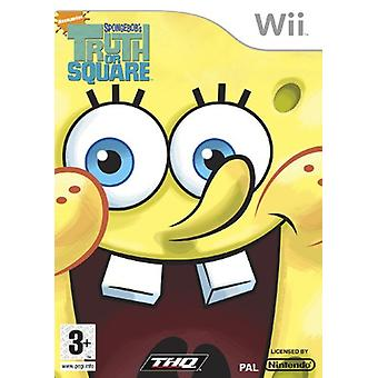 SpongeBob-Truth or Square (Wii)