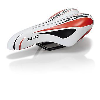 XLC SA-C01 bicycle seat for children/youth. Unisex white-red + white grey
