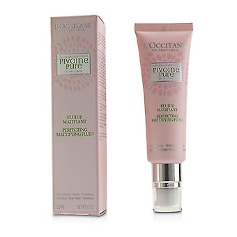 L'Occitane Peony Pivoine Perfecting Matifying Fluid 50ml/1.7oz