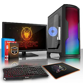 PC Gaming esilio feroce, veloce processore AMD Athlon 4 950 4,0 GHz, HDD da 1 TB, 8GB RAM, GTX 1050 Ti 4 GB