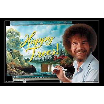 Bob Ross - Happy Trees Poster Print