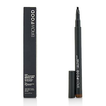 LashFood BrowFood 24H Tri Feather Brow Pen - donkere Brunette 1ml/0.03 oz