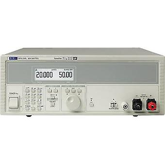 Aim TTi QPX1200SP Bench PSU (adjustable voltage) 0 - 60 Vdc 0 - 50 A 1200 W GPIB, LAN, LXI, RS232, USB , Analogue No. of outputs 1 x