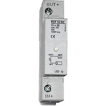 ESKA 1038004 Fuse holder incl. status indicator Suitable for PV fuse 20 A 1000 Vdc 1 pc(s)