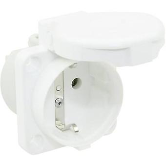 PCE 105-0ww Add-on socket IP44 White