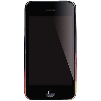 Nixon Mitt Drucken iPhone 4 Case - samt-Nebel