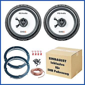 Seat Arosa, VW Lupo, VW new beetle, Škoda Octavia speaker Kit front; PG audio B-stock
