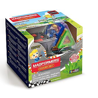 Magformers Rally Kart Remote Control Set Magnetic Toy