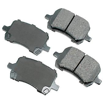 Akebono ACT1160 ProACT Ultra-Premium Ceramic Brake Pad Set