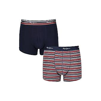 New Designer Mens Pepe Jeans Boxer Trunk Shorts Kris Gift Set