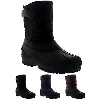 Mens Muck Nylon Strap Duck sneeuw Winter Flat regen Outdoor laarzen UK 6-14
