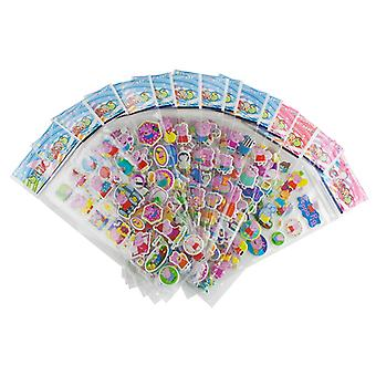 PepaPig stickers in 3D-2 Sheets (about 24 pieces)