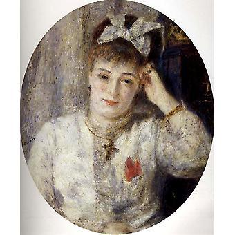 Marie Meunier, Pierre Renoir, 67,6 x 57,1 cm