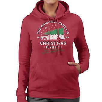 Griswold Family Christmas Party Frauen die Kapuzen-Sweatshirt