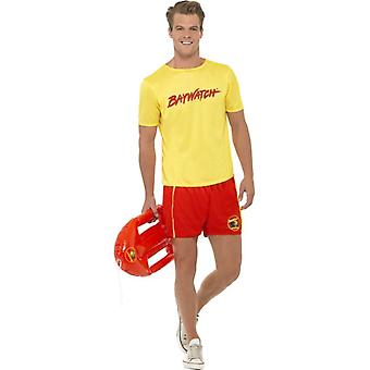 Baywatch Men's Beach Costume, Chest 38