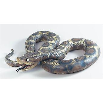Slange. Store gummi.