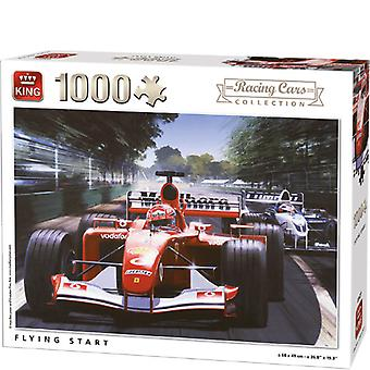 Kongen Jigsaw 1000 St. Flying start-5627
