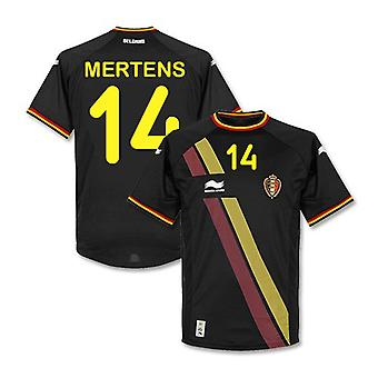 2014-15 Belgium World Cup Away Shirt (Mertens 14) - Kids