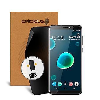 Celicious Privacy 2-weg Antispion filteren Screen Protector Film compatibel met HTC Desire 12 +