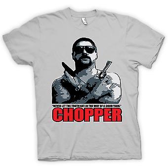 Mens t-skjorte - helikopter - Reid god garn - Film - komedie